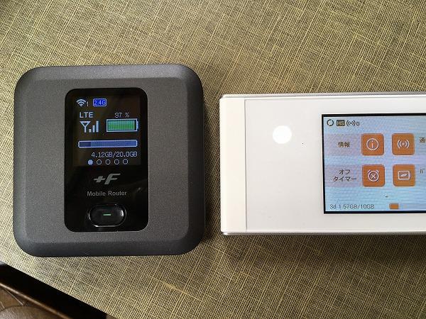 ネクストモバイル モバイルルーター FS030W 7